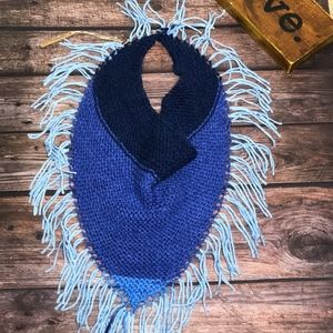 NWT~Simply Hand Knit ~ Triangle Scarf Cowl
